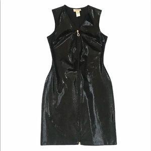 Cache Snake Print Bodycon dress